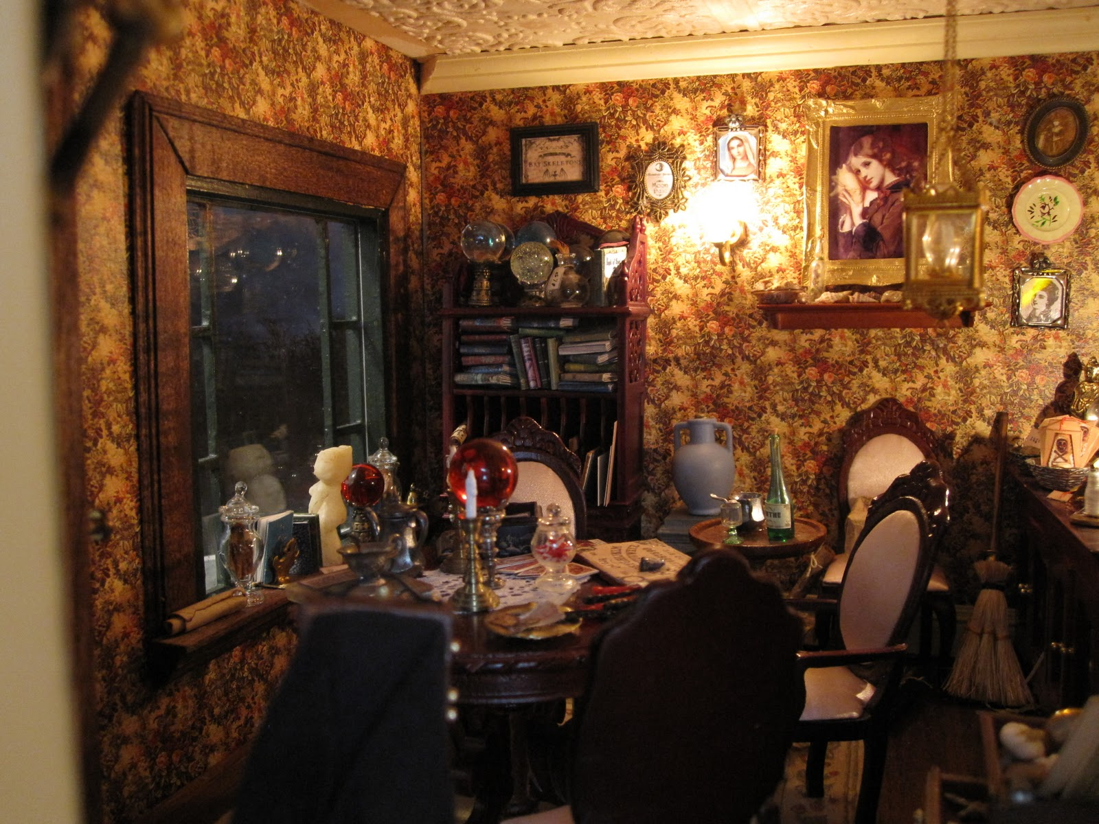 My Miniature Witch House October 2011