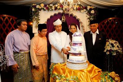 Pernikahan Zed Zaidi Dan Natalia (Gambar)