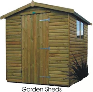 Protect The Garden Using Garden Sheds