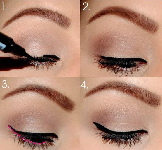 Cara Make Up Mata Memakai Eyeliner Cara Make Up