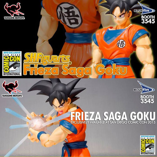 SDCC Exclusives SH Figuarts Goku Frieza Saga Version Impostor Sailor Moon For San Diego Comic Con
