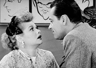 Lucy Meets William Holden