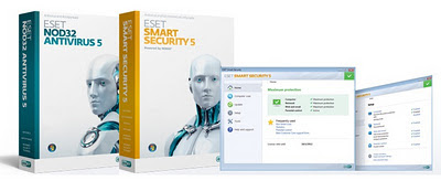 Cara Crack ESET Smart Security 5 Dan NOD32 AntiVirus 5