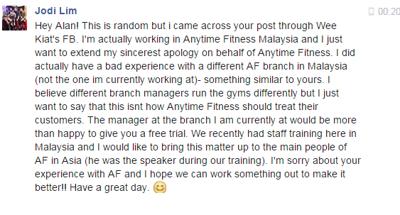 This Is Alans Blog Anytime Fitness Anyhow Fitness Part 2 The
