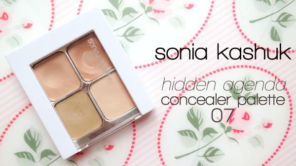 Sonia Kashuk Hidden Agenda Concealer Palette 07