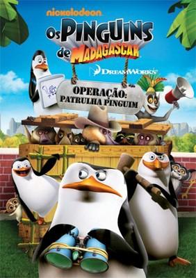 Capa do Filme Os Pinguins de Madagascar   Operação Patrulha Pinguim DVD R Dual Áudio | Baixar Filme Os Pinguins de Madagascar   Operação Patrulha Pinguim DVD R Dual Áudio Grátis