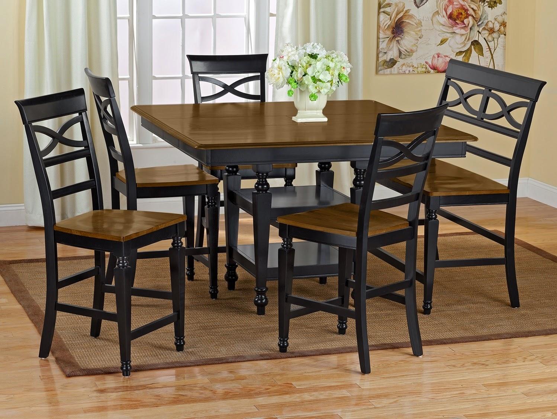 avantages et inconv nients de la hauteur du tables comptoir. Black Bedroom Furniture Sets. Home Design Ideas