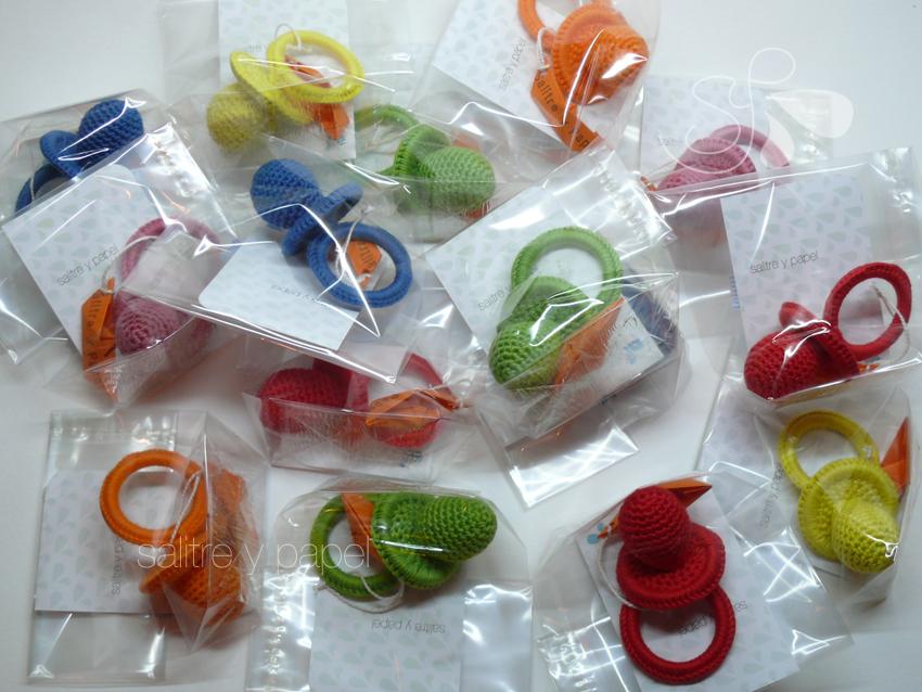 chupetes crochet amigurumi