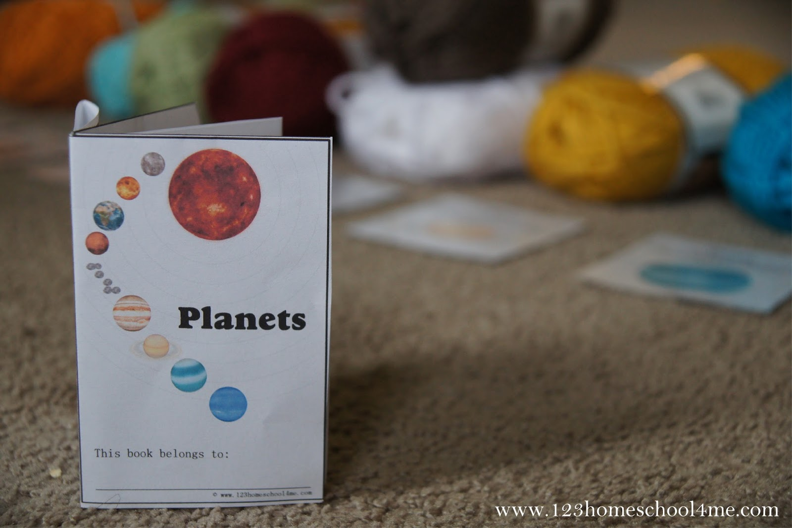 planets free printable book to teach kids about the solar system - Free Printable Books For Kids