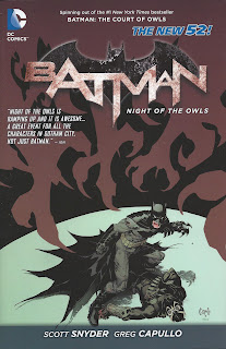 Batman Night of the Owls collection