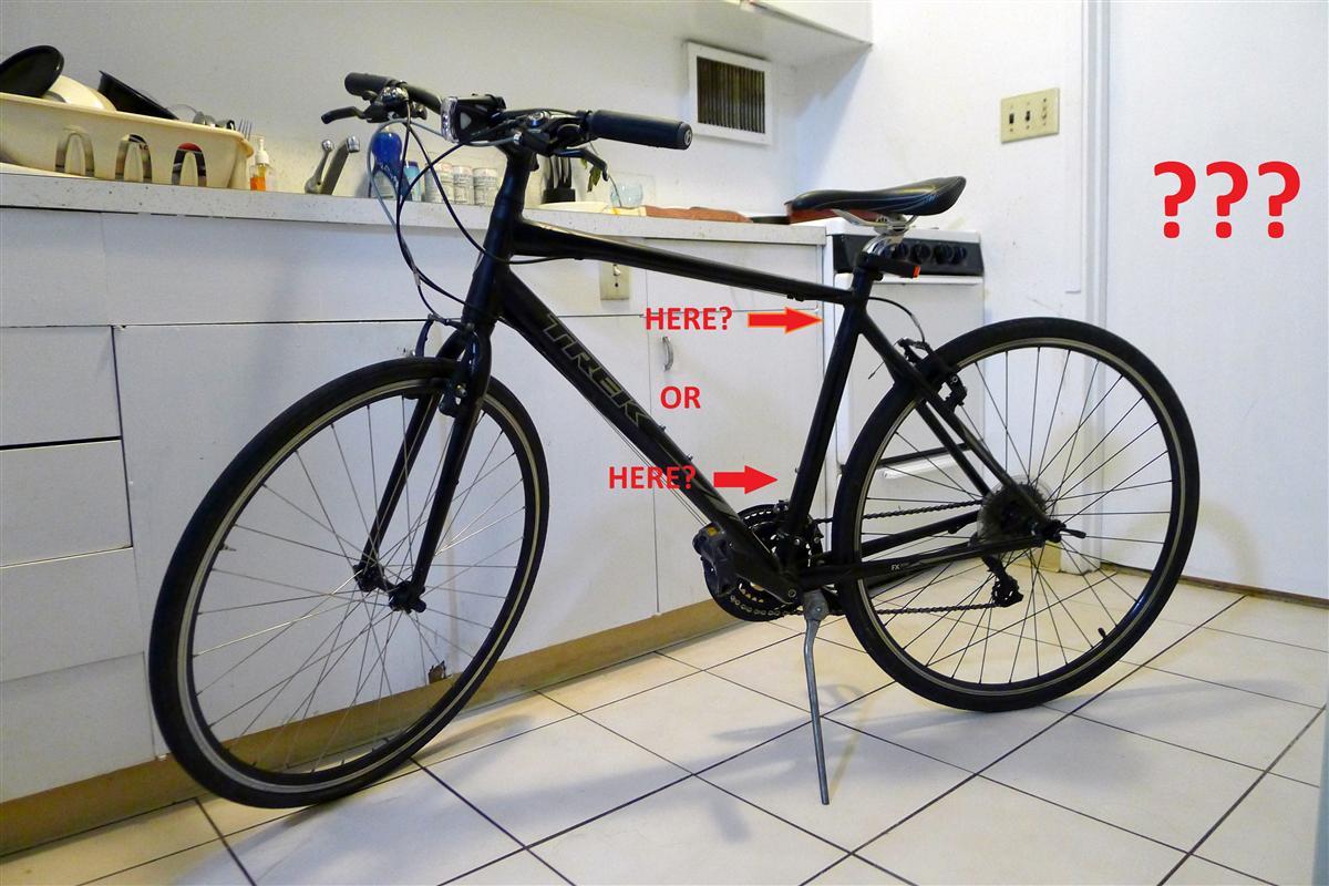 Bike My Block Where To Put Registration Sticker - Bicycle stickers custom