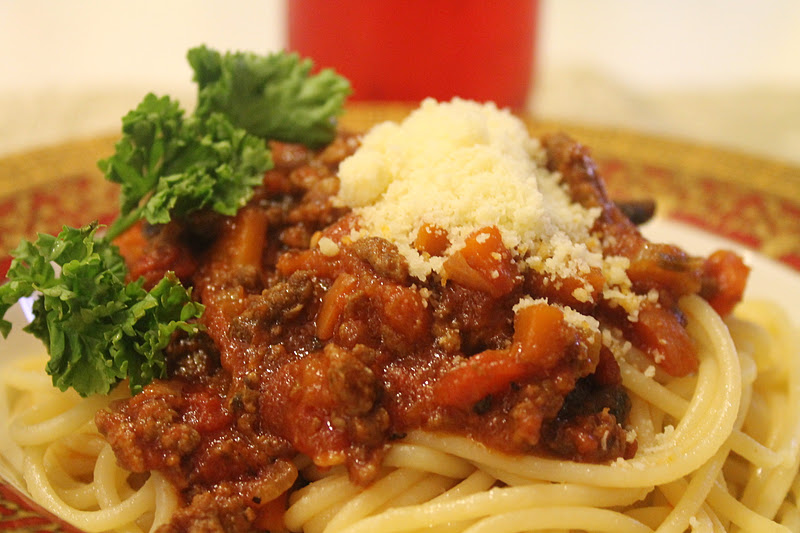 Azie Kitchen: My Best Slow Cooker Home Made Spaghetti Alla Bolognese