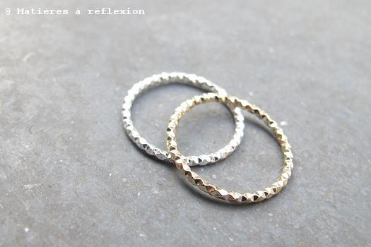 Soldes bijoux Trois Petits Points bague vermeil argent plaqué or éclat