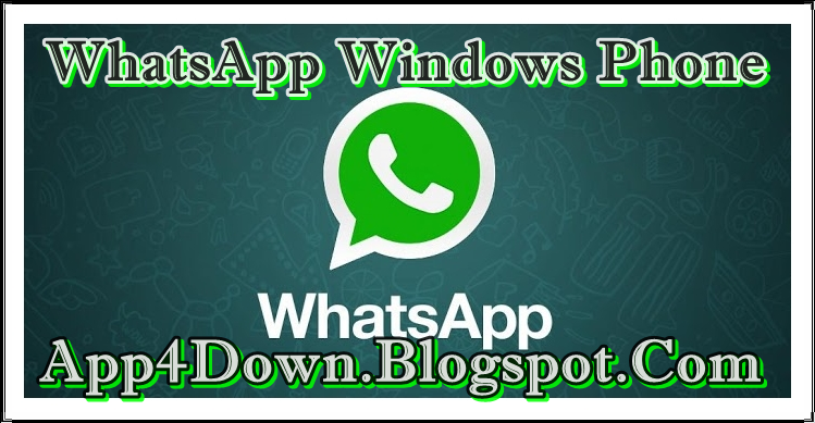 WhatsApp 2.11.596.0 For Windows Phone Latest Version Download