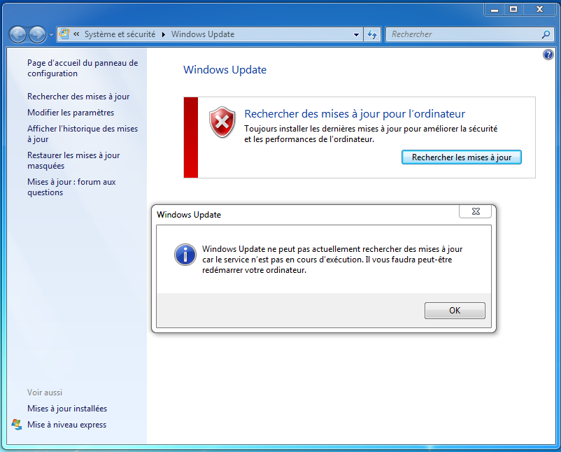 Informatique beaujolaise windows 7 impossible de for Ouvrir fenetre dos windows 7