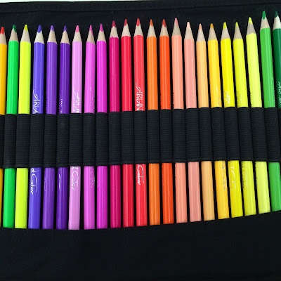 Ariana's Art 48 Artist Quality Colored Pencils Set Review.