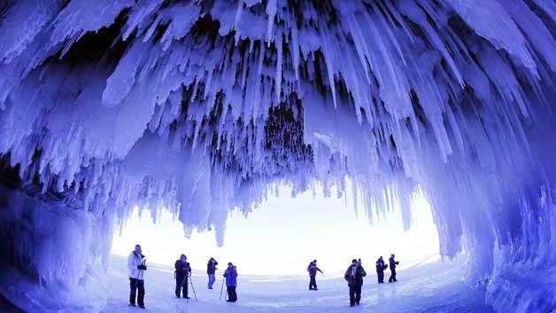 Cuevas de hielo naturales