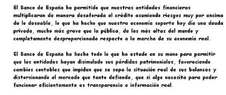RESPONSABILIDAD DEL BANCO DE ESPAÑA