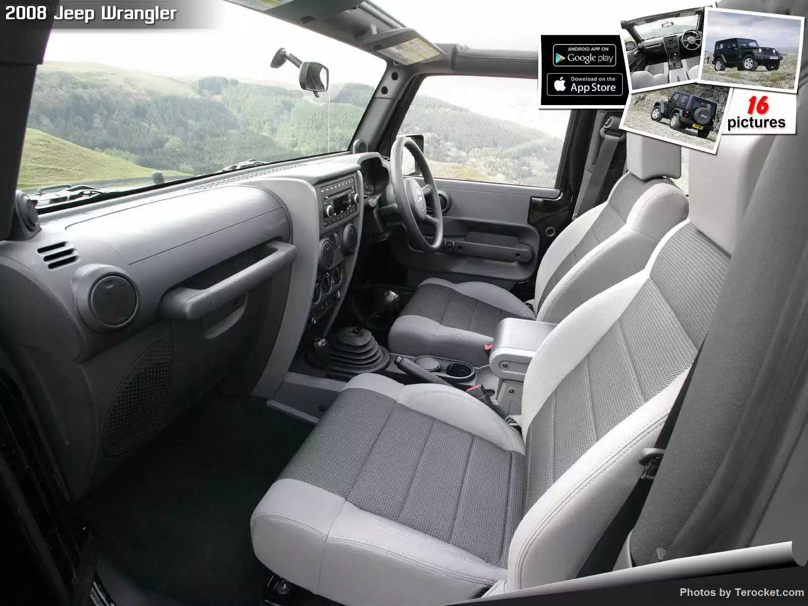 Hình ảnh xe ô tô Jeep Wrangler UK Version 2008 & nội ngoại thất