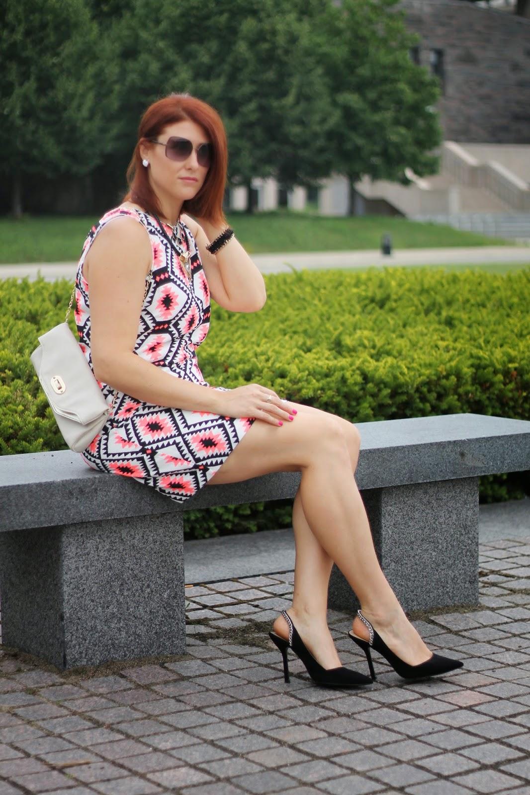 tribal, dress