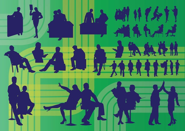 Free Vector Business People Graphics