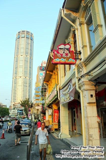 Patsa Thai Thai Shop @ Jalan Dato Keramat, Penang Boat Noodle