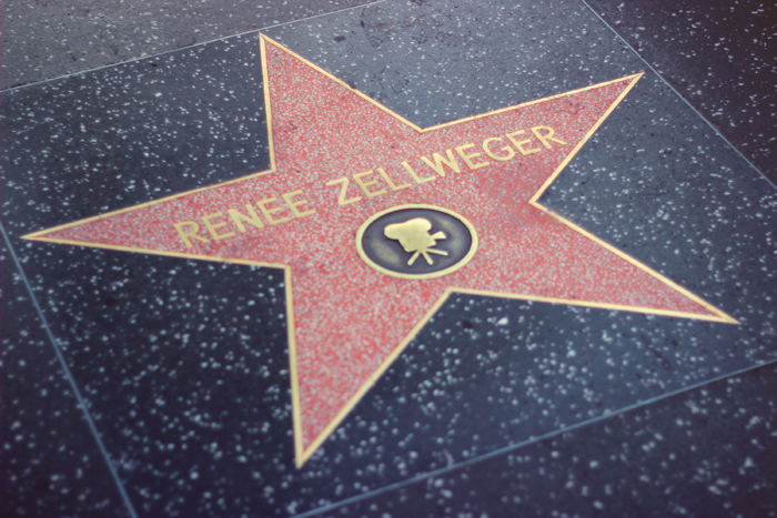 aimerose hollywood walk of fame renee zellweger