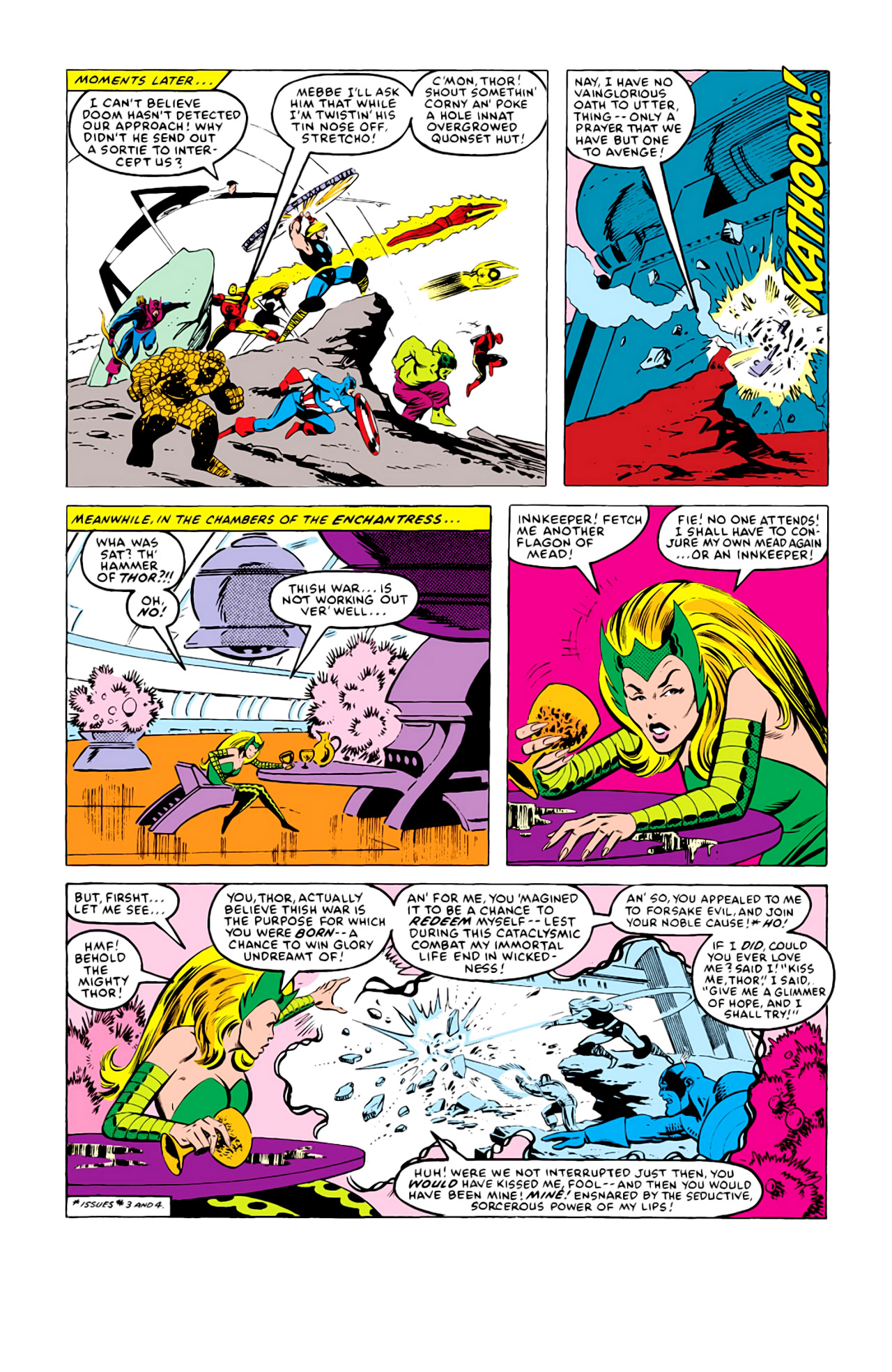 Captain America (1968) Issue #292i #216 - English 3