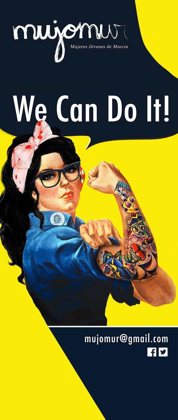 ¡Mujeres jóvenes en movimiento!