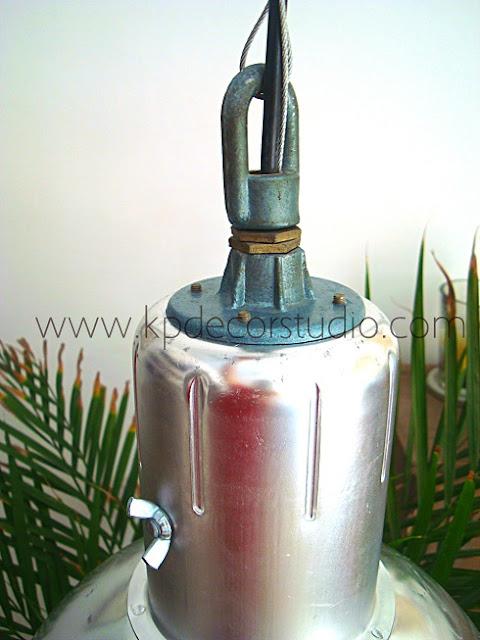 Comprar lámparas vintage estilo industrial. Lámpara de fábrica