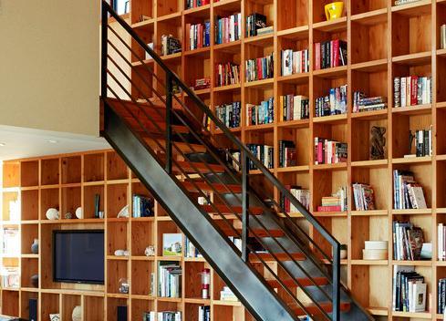 Fotos de escaleras como construir una escalera de metal for Como cubrir una escalera
