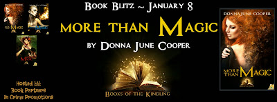 More Than Magic by Donna June Cooper – Blitz + Giveaway