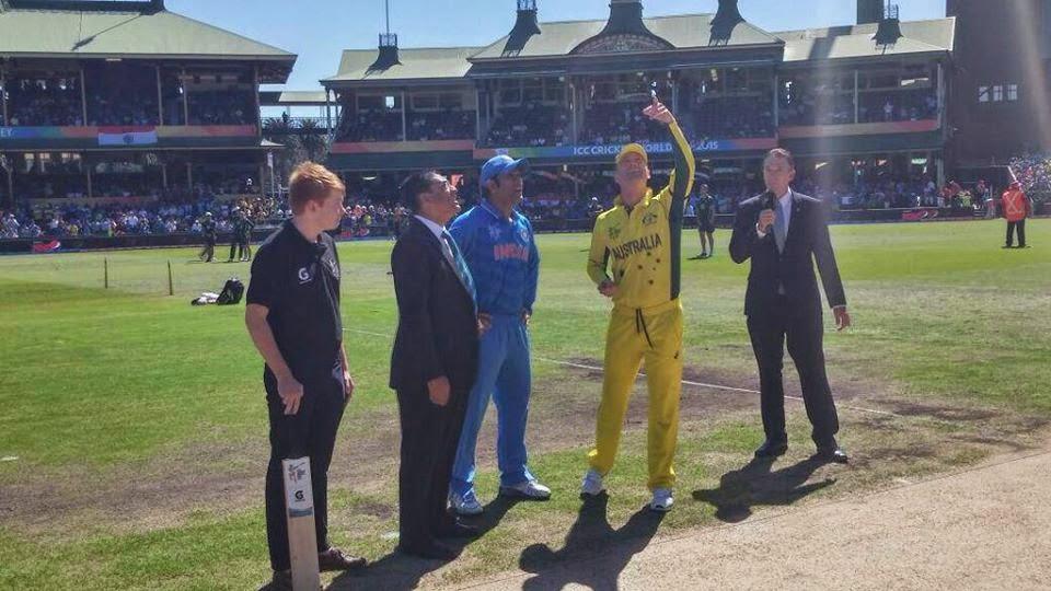 India vs Australia live score