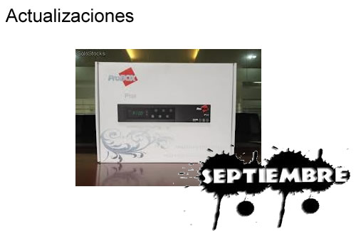 Actualización Anti Frizz PROBOX 180 05 Septiembre 2013