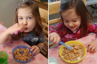 Kellogg's FiberPlus cereal