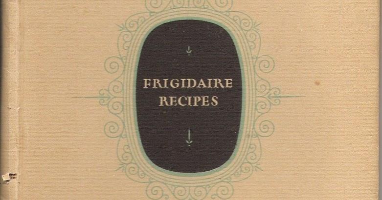 apron history frigidaire recipes 1923. Black Bedroom Furniture Sets. Home Design Ideas