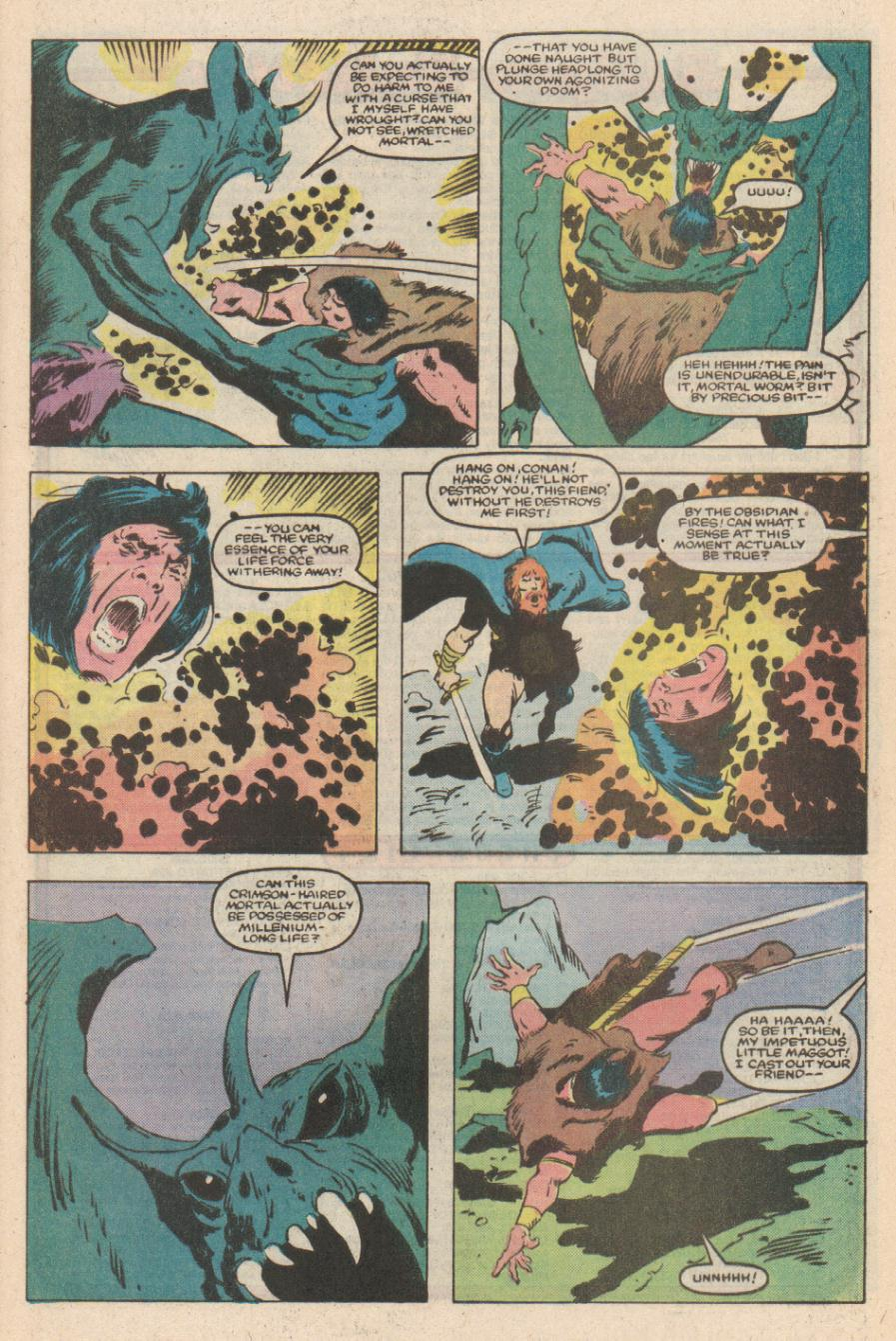 Conan the Barbarian (1970) Issue #170 #182 - English 21