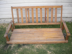 antique porch swing...SOLD