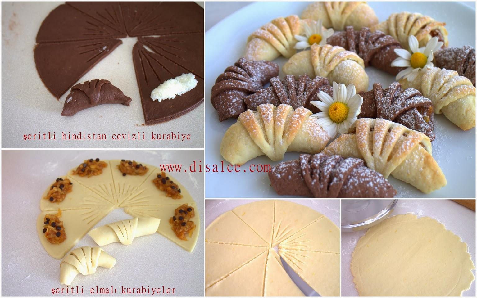 h.cevizli şerit kurabiye