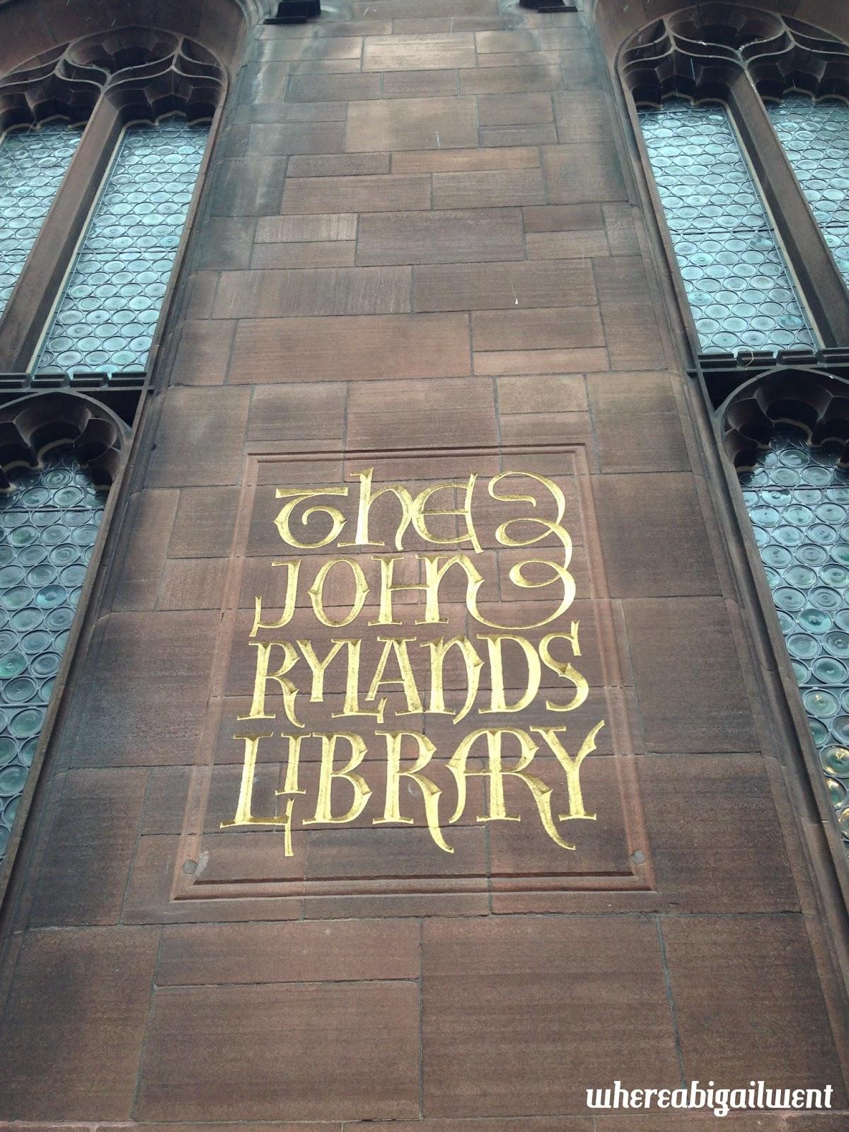 John Rylands Library Exterior