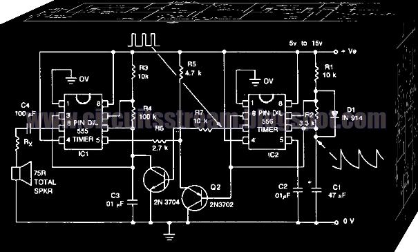 build a siren alarm simulates star trek red alert circuit diagramsiren alarm simulates star trek red alert circuit diagram