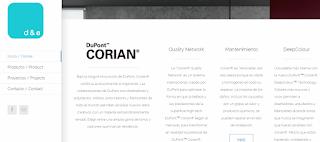 Corian by Dupont, D&e, innovación en baños, D&e, ideobain 2015