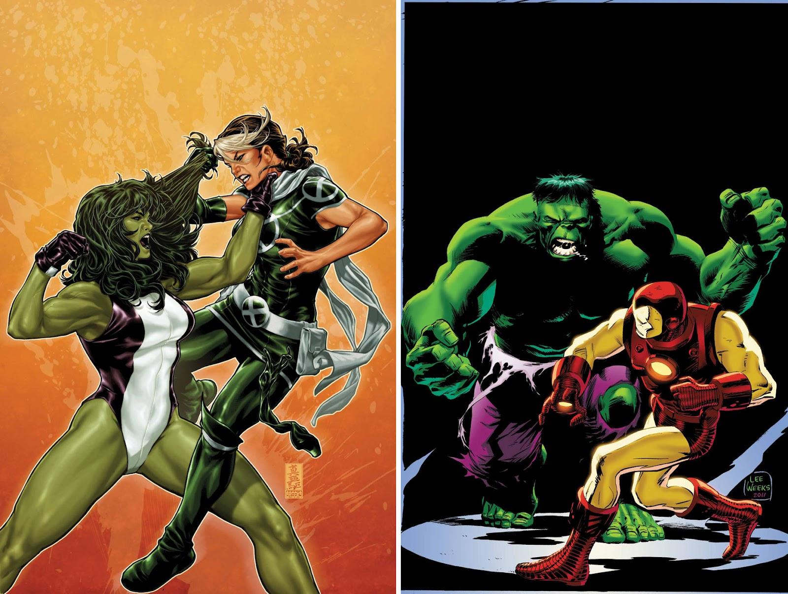 She Hulk Transformation Real Life Mark brooks she-hulk is on