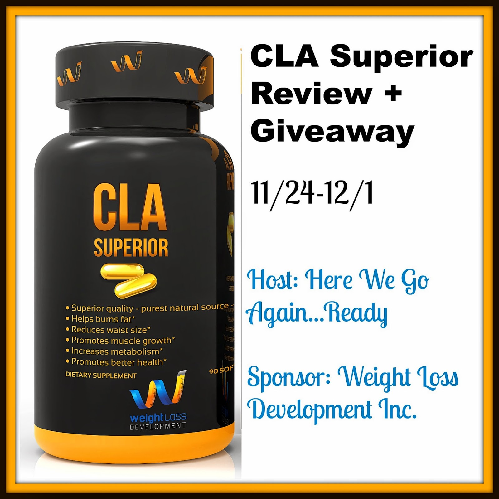 Here we go again ready weight loss development inc cla for Product development inc