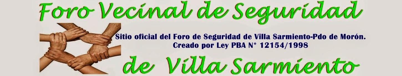 Foro Vecinal de Seguridad de Villa Sarmiento