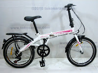 20 Inch Element Blast 7 Speed Shimano Folding Bike