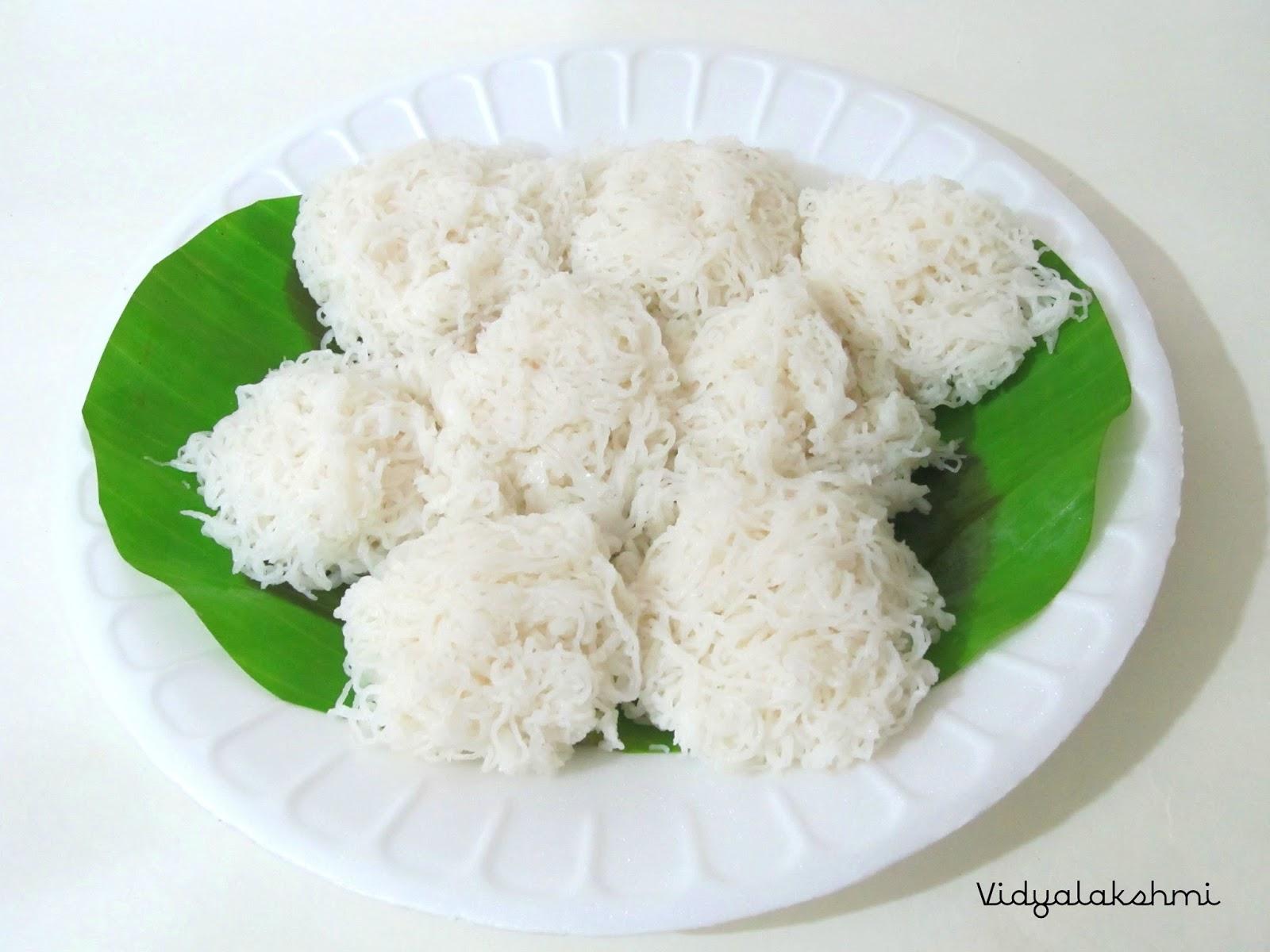 cookingmyway: String Hoppers (Idiyappam/Nool puttu)