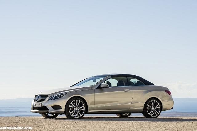 Mercedes-Benz Modellpflege 2013: E-Klasse Cabriolet