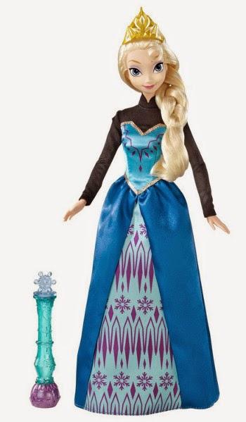 TOYS - PRINCESAS DISNEY - Muñeca Elsa : Frozen Color Change  Juguete oficial | Mattel Y9964 | A partir de 3 años