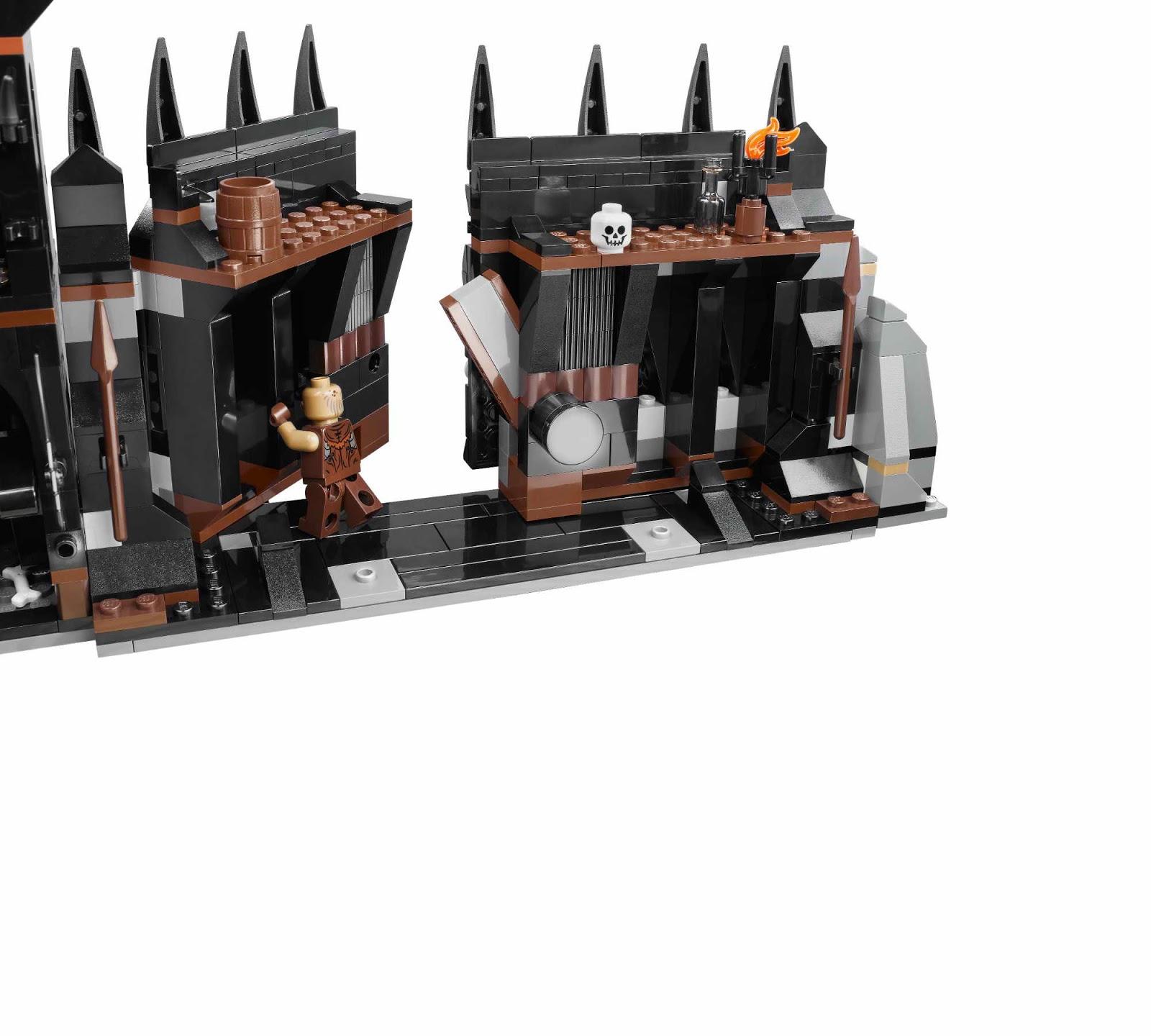 Images Of Lego Black Gate Spacehero The Lord Rings Battle At 79007 Onetwobrickcom Set Database
